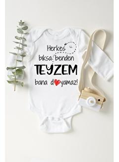 Happy Onesie Co Teyzem Bana Doyamaz Çıtçıtlı Bebek Body
